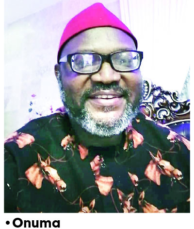 2023: It's time for Nigerian president of Igbo extraction –Onuma