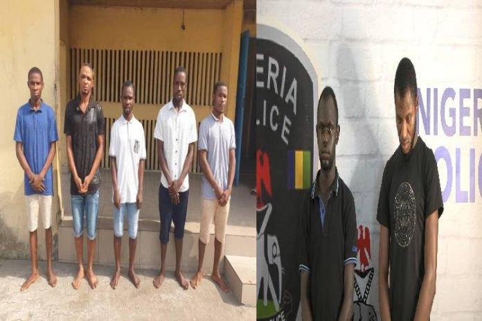 Police arrest 5 suspects for multiple abduction, abuse of women, 2 for int'l child pornography