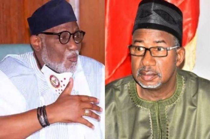 Don't set Nigeria on fire with your comments, Akeredolu warns Bauchi Gov