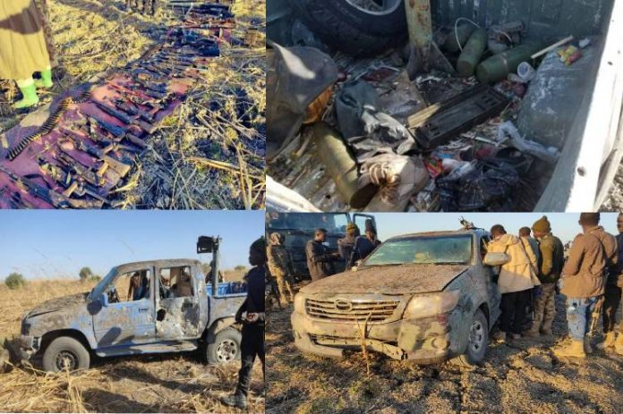 Troops kill scores of BH/ISWAP terrorists, capture arms, ammunition inBorno