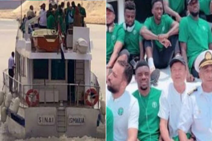 AFCON Qualifiers: Super Eagles to travel to Benin by boat