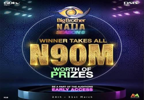 BBNaija Season Six Returns, N90m For Winner