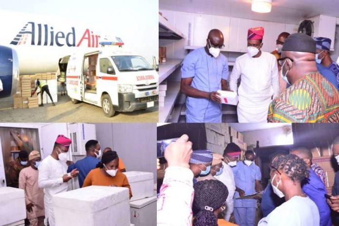 COVID-19: Ekiti State receives doses of Oxford/AstraZeneca Vaccines