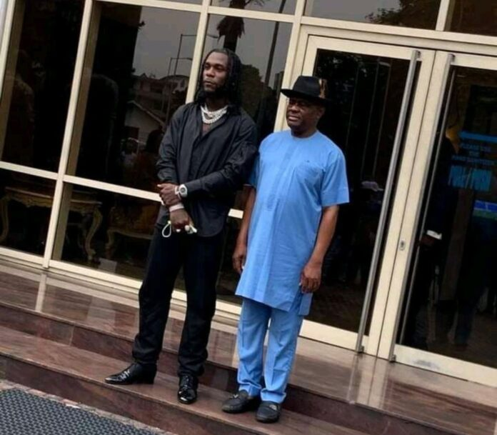 Grammys: We owe you, you've made us proud - Wike tells Burna Boy