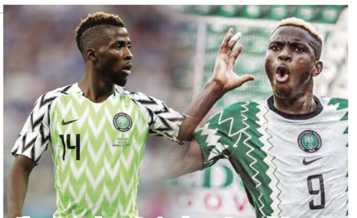 Iheanacho, Osimhen Lead Super Eagles' Attack Against Benin