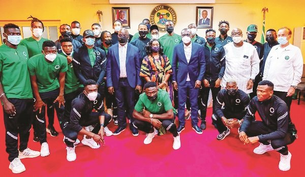 NigeriaVs. Benin: Sanwo-Oluurges Eagles to enjoyboat trip to Port Novo
