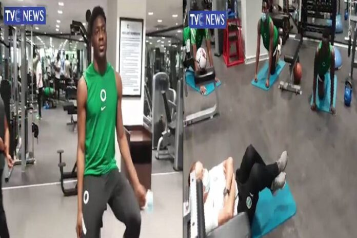 Super Eagles resume fitness training ahead AFCON qualifiers
