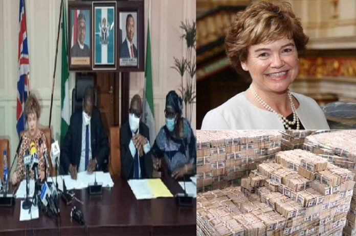 UK High Commissioner to Nigeria Catriona Laing, says looted funds are not welcomed in the UK