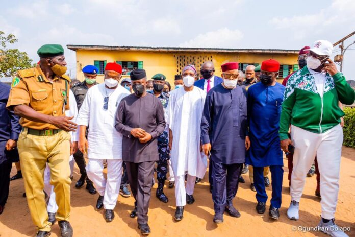 Imo prison break: Osinbajo hints on FG's plan to rejig security architecture