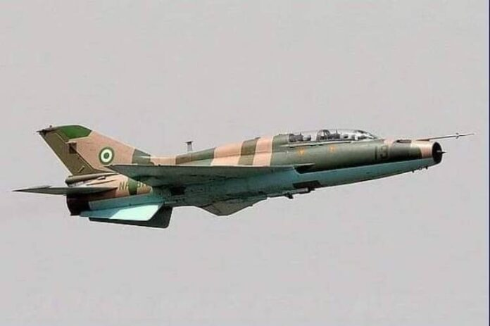 Missing Air Force fighter jet crashes at Abba-Jille, fate of pilots unknown