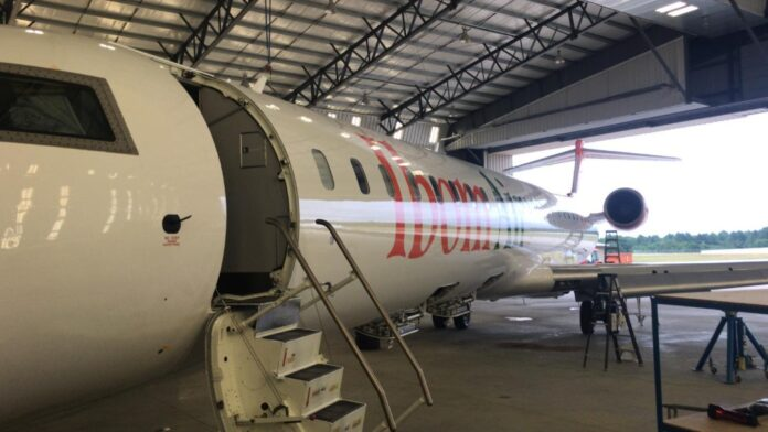 Ibom Air Receives 5th Bombardier CRJ900 Aircraft