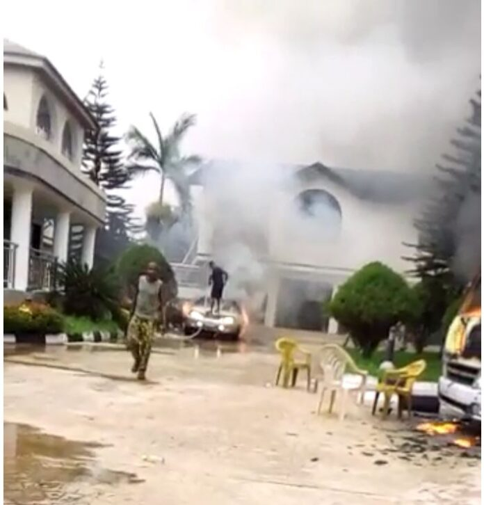 Unknown gunmen attack Imo State Governor, Hope Uzodinma's Country home -