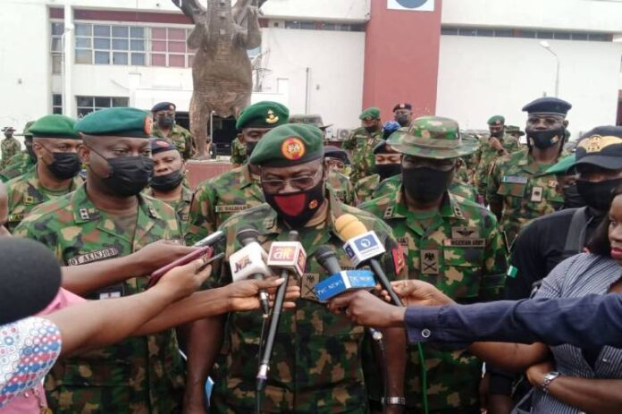 Chief of Army Staff visits 82 Division Enugu