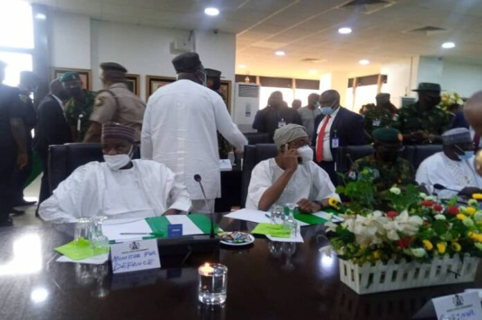 Expanded South East Security meeting currently on in Enugu