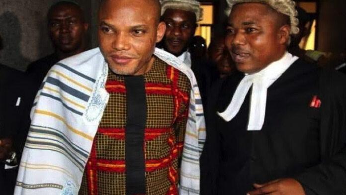 Nnamdi Kanu's lawyer confirms arrest