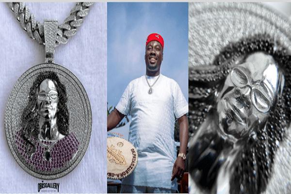 Cubana immortalises late mum with $100,000 diamond pendant, neckpiece