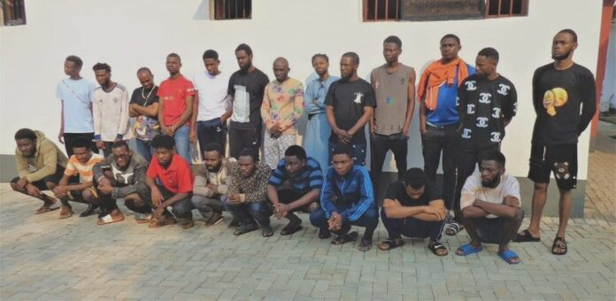 EFCC Arrests 55 Internet Fraud Suspects In Enugu, Ebonyi