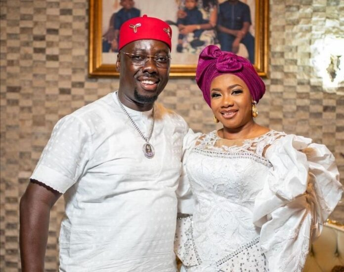 My husband is filled with grace - Obi Cubana's wife denies ritual claims