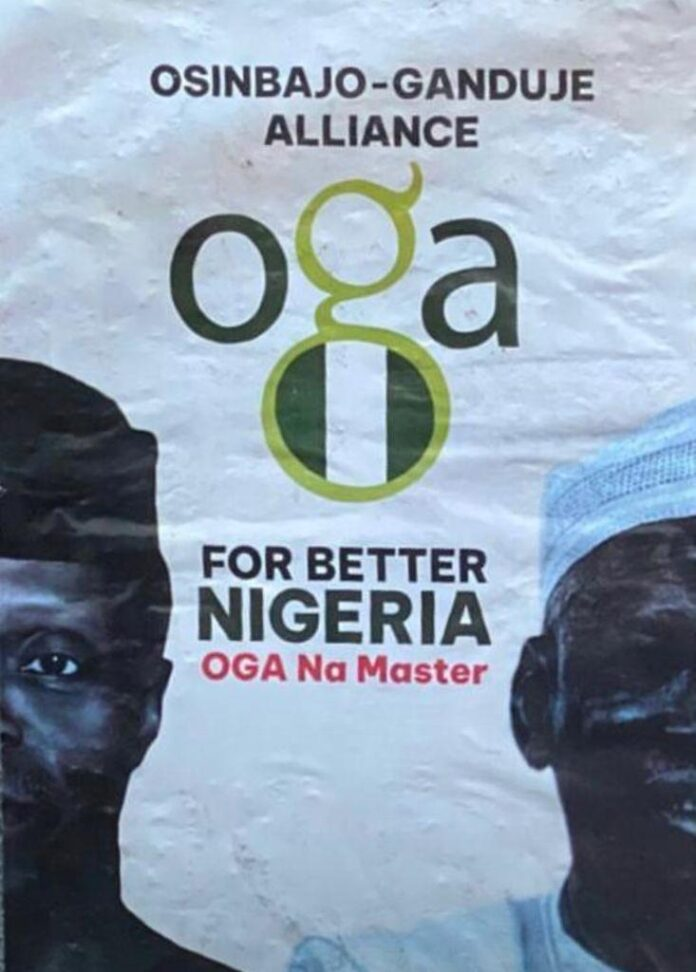 2023: Osinbajo, Ganduje presidential campaign posters flood Kano [PHOTOS]