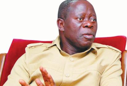 APC Crisis: I've chosen to sleep on my rights — Oshiomhole
