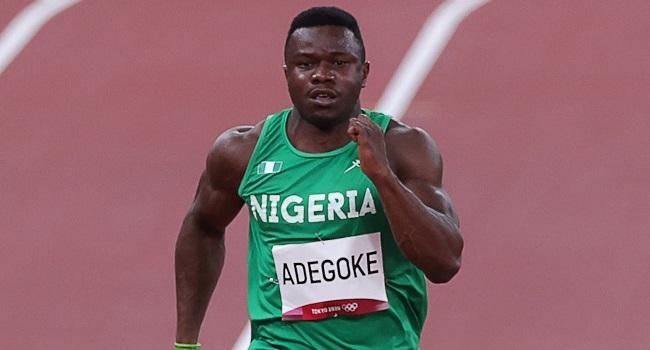 Injury stops Adegoke's Olympic  dream