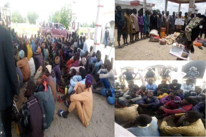 ISWAP/Boko Haram members surrender to troops in Mafa, Borno