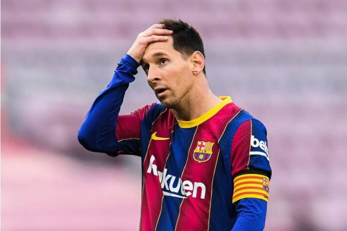 The Breaking is that Lionel Messi to leave Barcelona