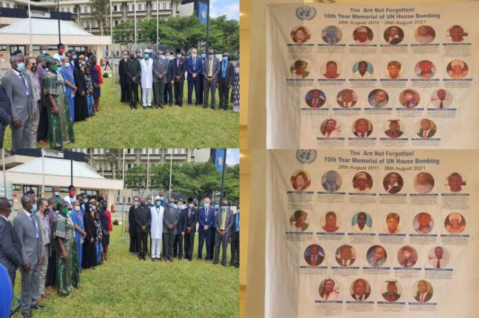 Latest news update in Nigeria is that Photostory: 10th anniversary of UN Abuja building bomb attack