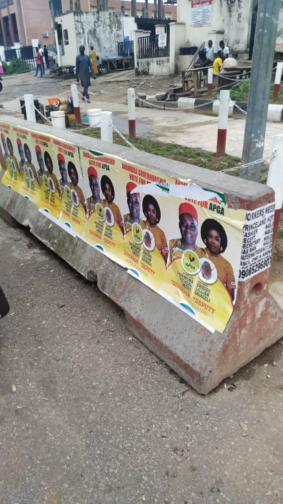 Umeoji Campaign Posters Flood Anambra, FCT
