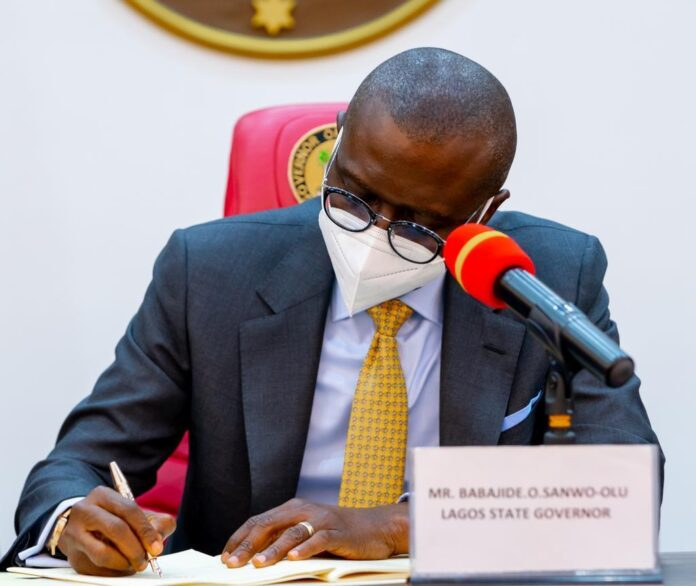 Lagos Assembly receives Sanwo-Olu's request to amend 2021 Appropriation Law