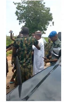 Latest Breaking News About Zamfara State: Governor Matawalle visits troops in Zamfara, Commends gallantry