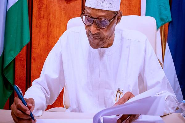 Latest Breaking News About Nigeria's Senate: President Buhari writes senate for confirmation of ICPC, RMAFC nominees