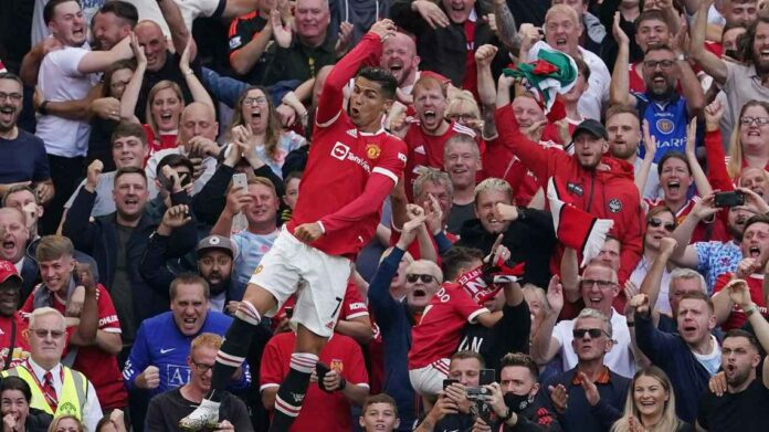 Ronaldo Hits Brace On United Return As Arsenal Leaves Relegation Zone