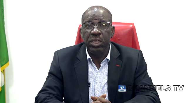 I Won't Return To Where I Was Pushed Out – Obaseki – Channels Television